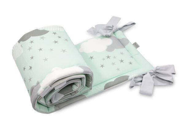 Hoofdbeschermer Minty Puffs Tiny Star | Baby's Paradijs | ochraniacz do lozeczkaMinty Puffs scaled