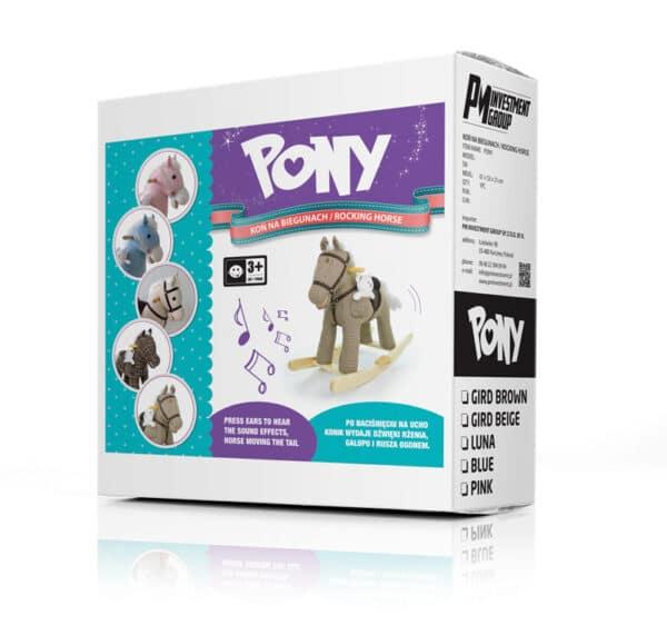 Pony Blue | Baby's Paradijs | pony 1