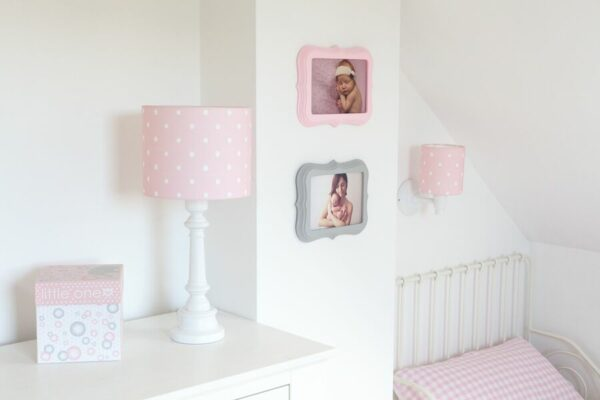 Tafellamp Lovely Dots Pink | Baby's Paradijs | Kinkiet Lovely Dots Pink 2 preview