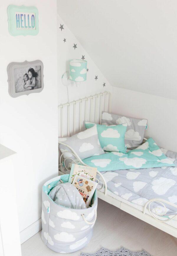 Wandlamp Wolkjes Mint   Baby's Paradijs   Kinkiet Chmurki Mint 2 preview