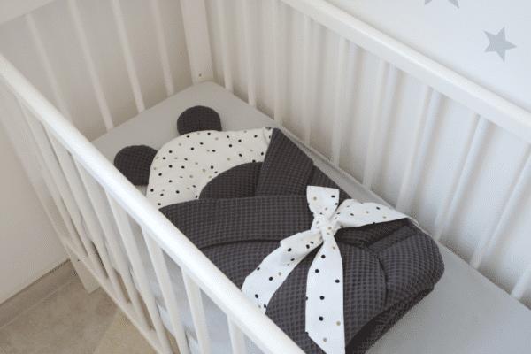 Wikkeldeken wafelstof Confetti | Baby's Paradijs | 69636451 2523612624537550 3256793565056991232 n