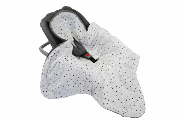 Autostoel voetenzak 0-8 maanden Sweet Confetti | Baby's Paradijs | Otulacz do fotelika Confetti Tiny Star scaled