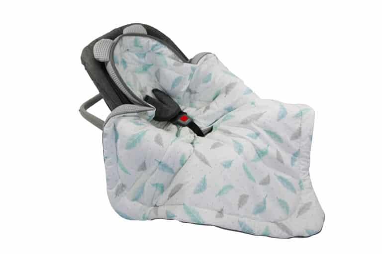 Autostoel voetenzak 0-8 maanden Sweet Plumes | Baby's Paradijs | Otulacz do fotelika Plumes scaled