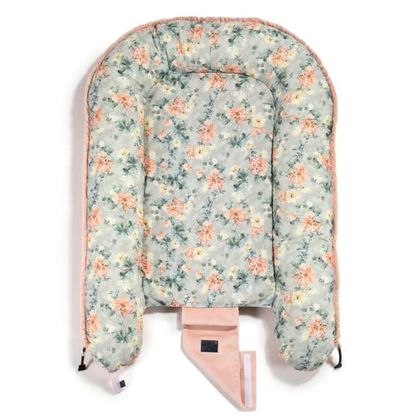 VELVET COLLECTION - BEST NEST - BLOOMING BOUTIQUE - POWDER PINK   Baby's Paradijs   IMG 0936 03