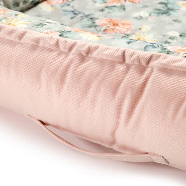 VELVET COLLECTION - BEST NEST - BLOOMING BOUTIQUE - POWDER PINK   Baby's Paradijs   IMG 0942 03