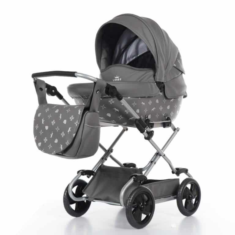 Poppenwagen Laret Imperial Mini Grijs | Baby's Paradijs | 2018 11 27 9999 6 1 scaled