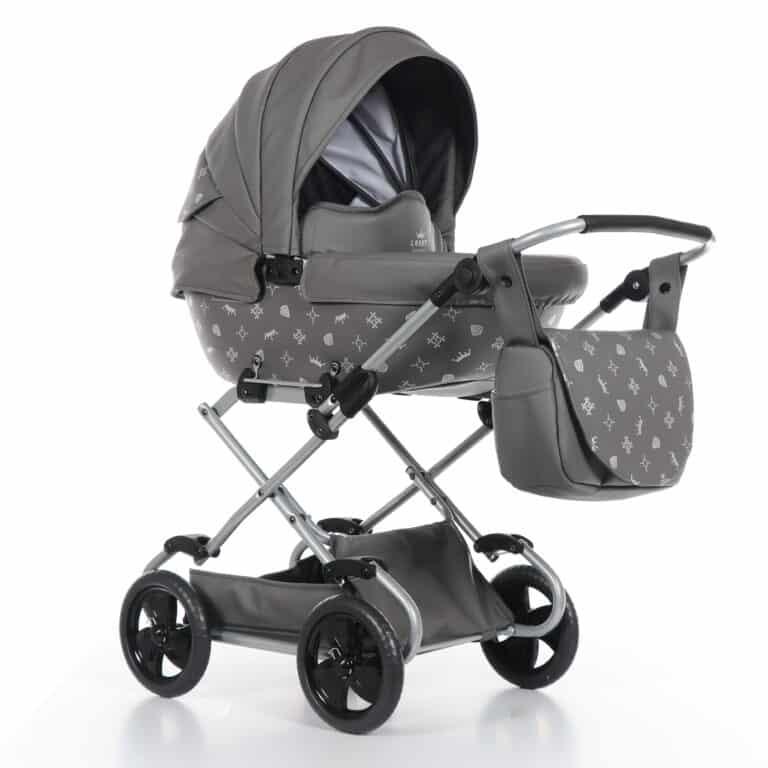 Poppenwagen Laret Imperial Mini Grijs | Baby's Paradijs | 2018 11 27 9999 9 1 scaled