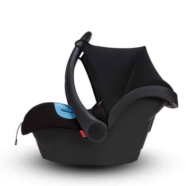 Autostoel zwart voor Anex kinderwagen | Baby's Paradijs | site 14025 scaled