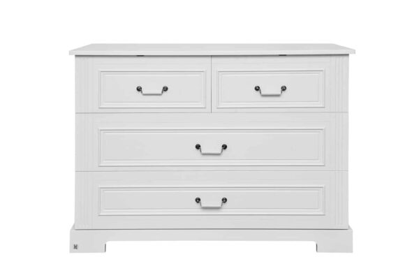 Doorgroeibed & 4-lades commode - Good Night Pure | Baby's Paradijs | 0289f1a65ea36d8d77f967b72c907b64