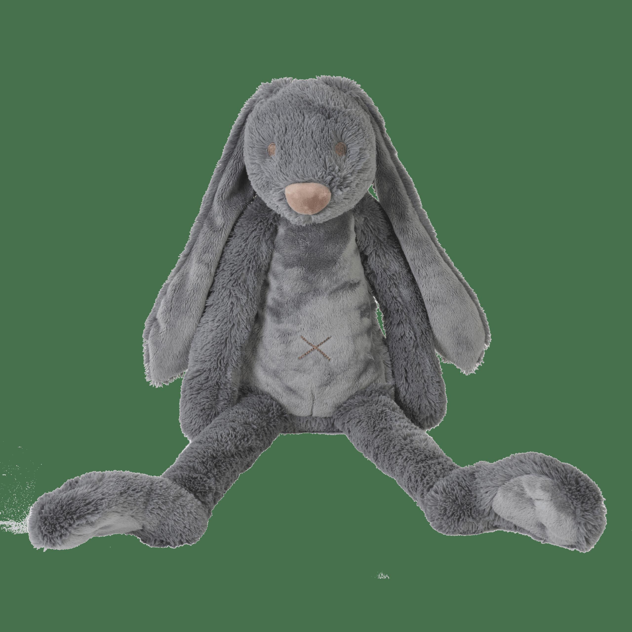 Big Deep Grey Rabbit Richie – Happy Horse Knuffel