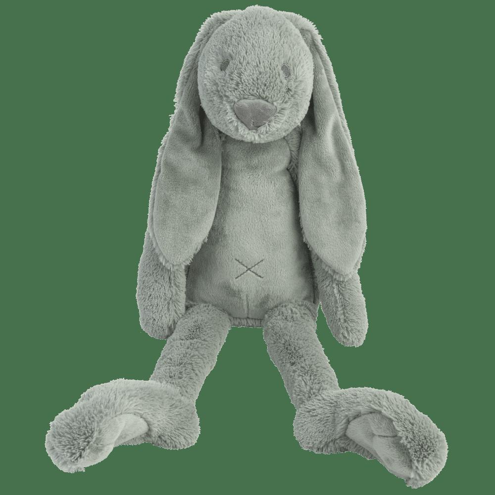 big green rabbit richie konijn happy horse