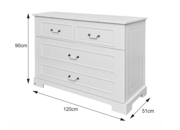 Doorgroeibed & 4-lades commode - Good Night Pure | Baby's Paradijs | 90e9b9db1c3aac95fe23578ef1337868