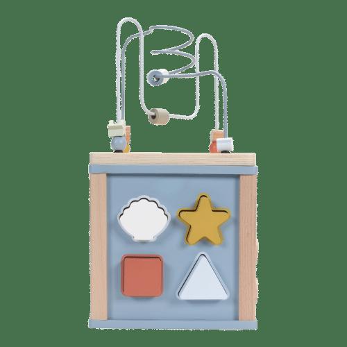 Houten activiteiten kubus - Little Dutch