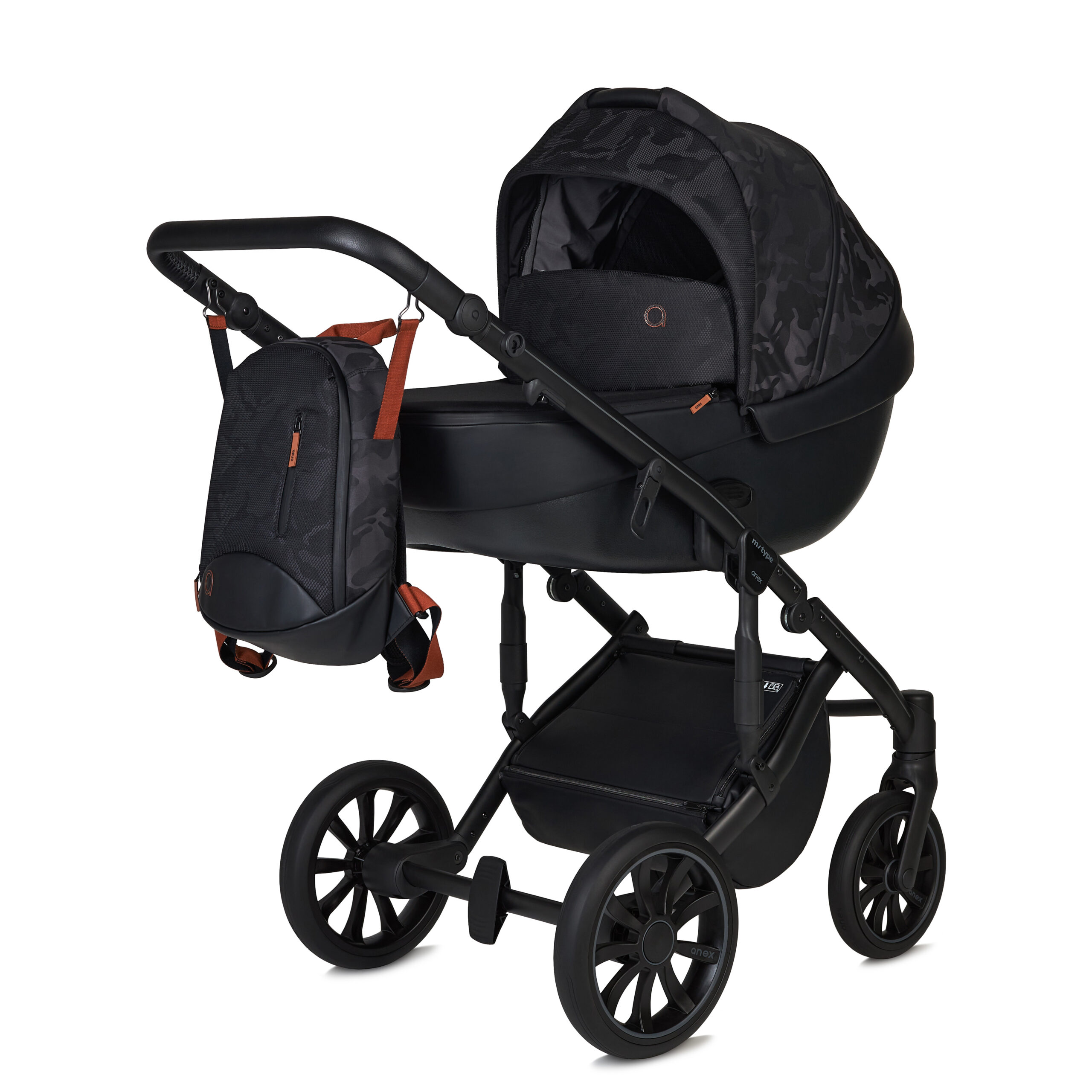 Anex kinderwagen m type hide special edition