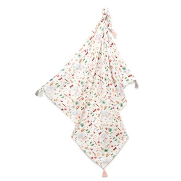 Sale | Baby's Paradijs | bamboo swadle la millou french riviera girl