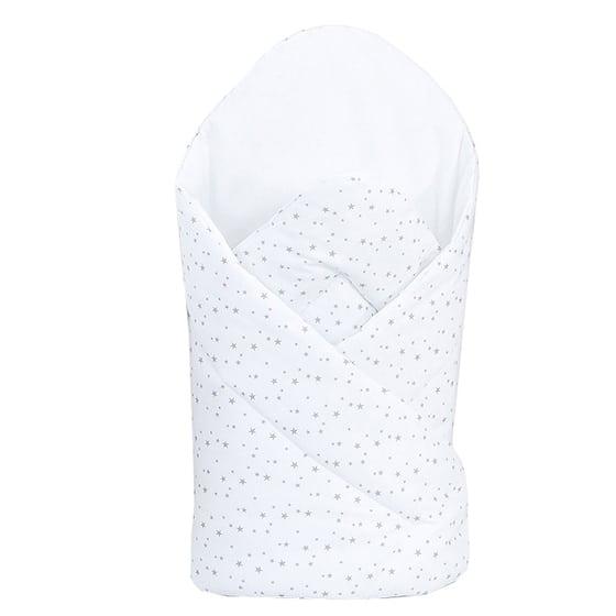 Sale | Baby's Paradijs | large rozek mini gwiazdki szare na bieli