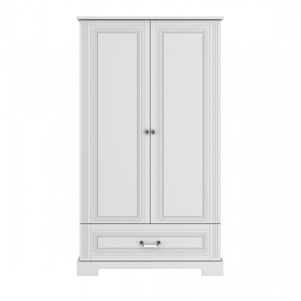 2-Deurs Kledingkast (groot) - Ines Elegant White