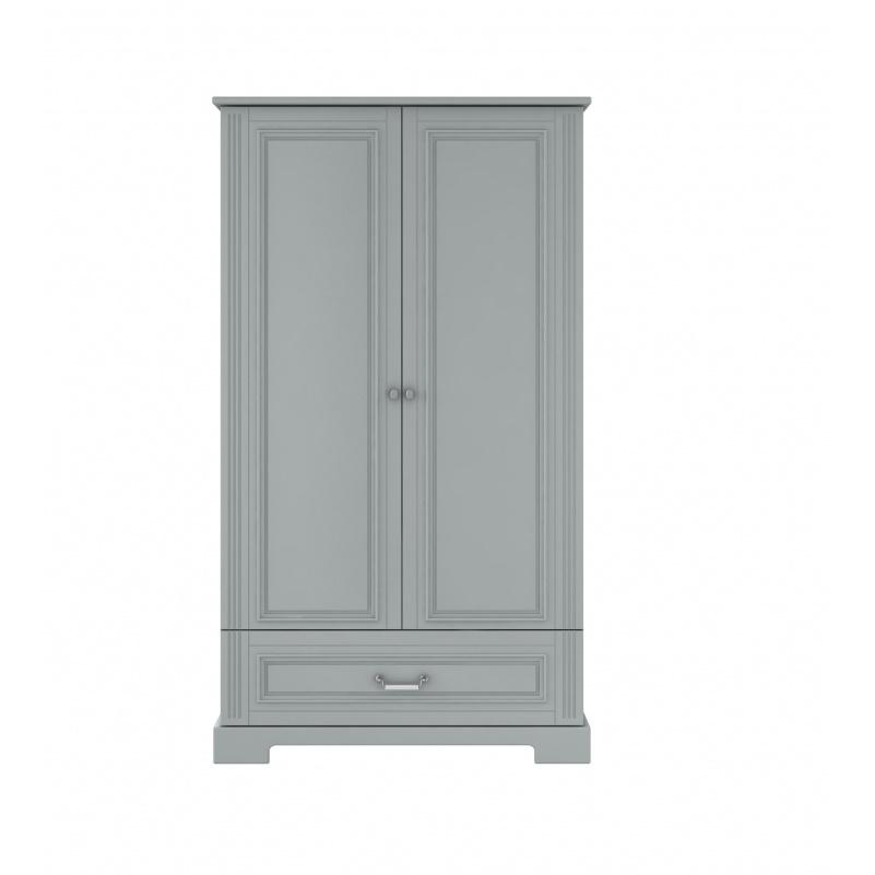 2-Deurs Kledingkast (groot) - Ines Neutral Grey