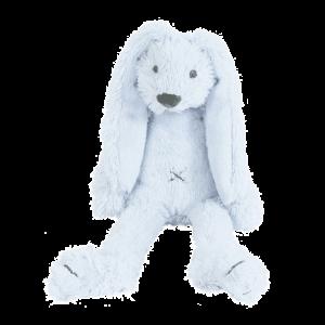 tiny blue rabbit richie konijn knuffle happy horse