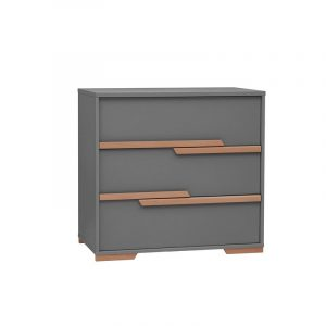 Commode - 3 lades - Snap Grey