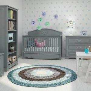 Ines Babykamer met Good Night Grey Doorgroeibed