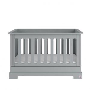 Ledikant 60 x 120 - Ines Neutral Gray