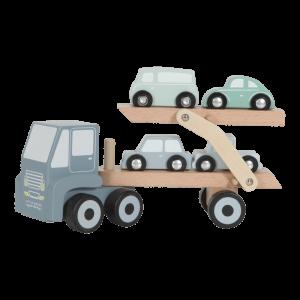 Truck Blauw - Little Dutch