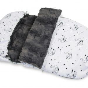śpiwór zimowy 90cm winter strollerbag 0007